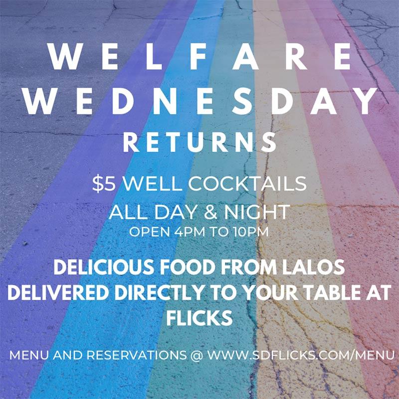 Flicks San Diego's Best Gay Bar - Weekend Happy Hour